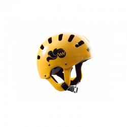 Casco WW ajustable amarillo