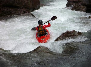 River Running Kayak