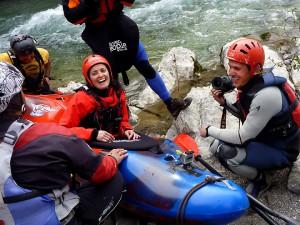 Estitxu Fernandez en Kayak