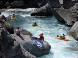 Kayak Extremo - Equipos