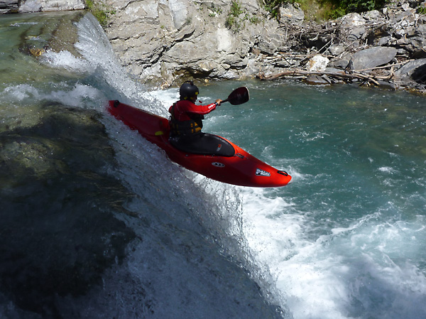 Kayak en los Alpes