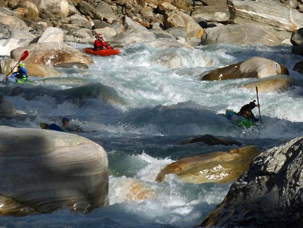 thuli beri kayak en nepal